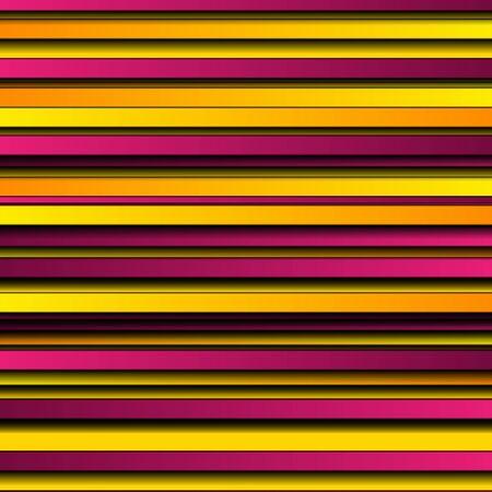 Bright purple and orange geometric smooth stripes abstract Banco de Imagens - 130806083