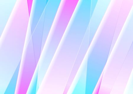 Blue and pink abstract  with smooth stripes. Banco de Imagens - 130806090