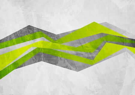 Grunge tech material contrast green and grey corporate texture