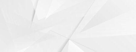 Abstract grey hi-tech polygonal corporate Ilustração