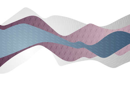 Abstract concept geometric minimal waves modern background. Vector illustration Vettoriali