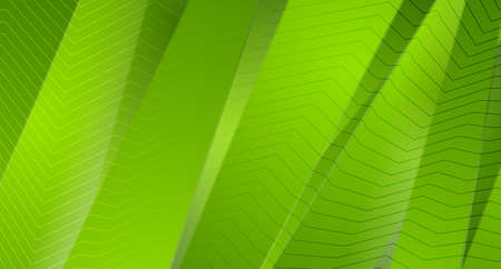 Green stripes and lines abstract corporate background. Vector graphic design