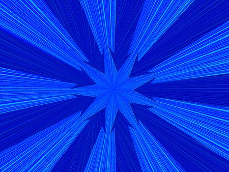 Digital background with blue arrows. 3D illustration