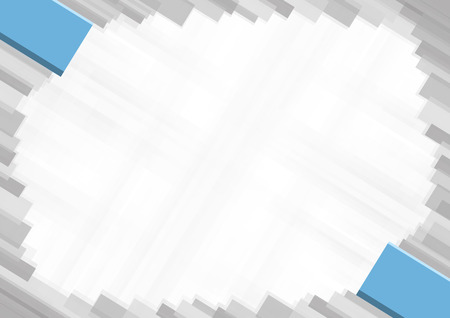 Border made with Fiji national colors. template elements for your certificate and diploma. Horizontal orientation. Vector Illustration