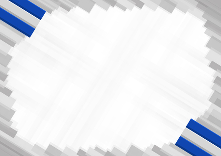 Border made with El Salvador national colors. template elements for your certificate and diploma. Horizontal orientation. Vector Ilustração