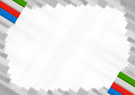 Border made with Equatorial Guinea national colors. template elements for your certificate and diploma. Horizontal orientation. Vector
