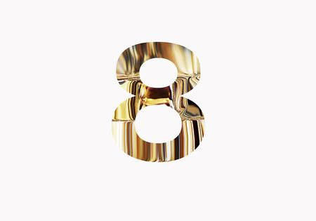 Golden number 8