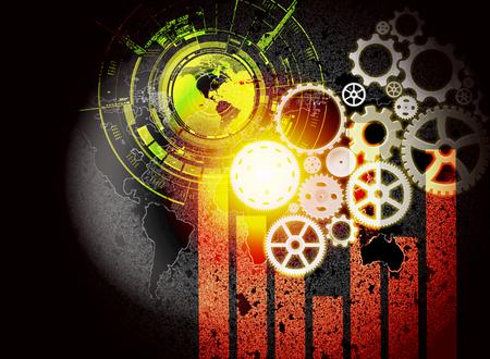 Concept de la technologie du commerce électronique