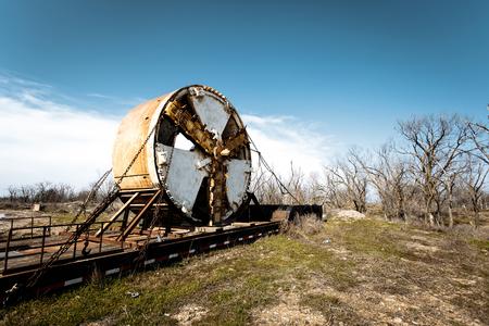 Milling cutter for tunneling machine Reklamní fotografie