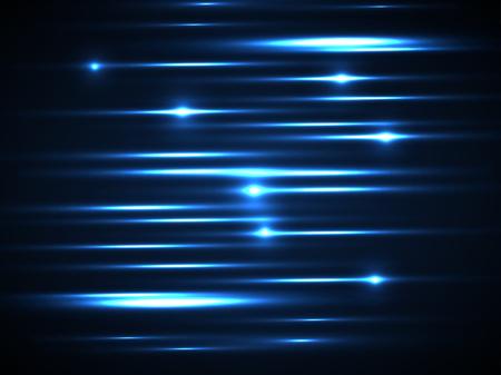 Blauwe lijn Gloed licht achtergrond