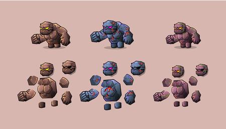 Character stone  monster kit