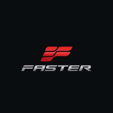 Letter F Logo concept design templates