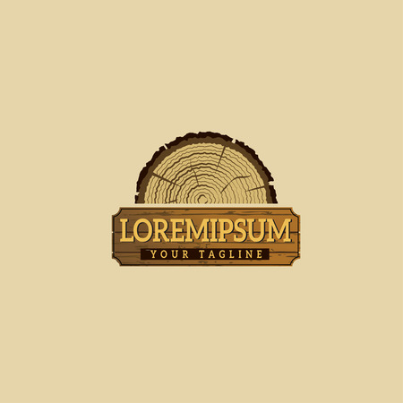 Wooding Logo concept design templates