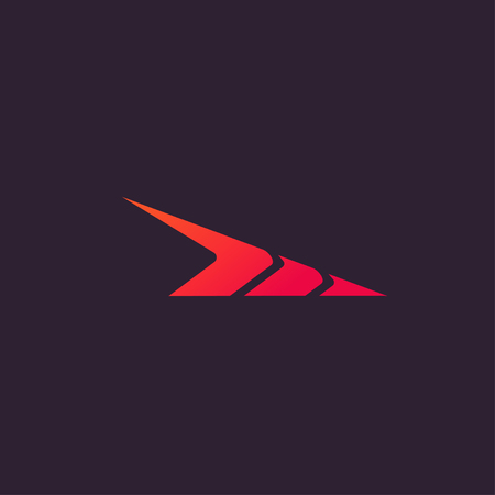 Abstract Symbol Speed Logo concept design templates 일러스트