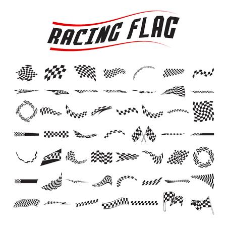 Racing vlag collectie set