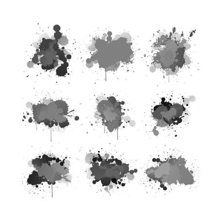 ink splashing element set