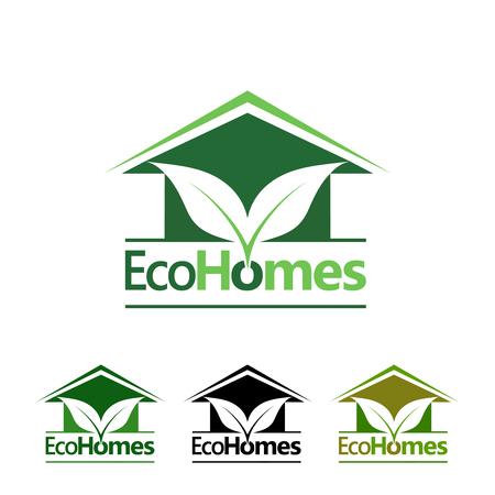 house painter: eco homes logo