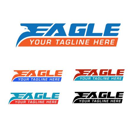 eagle express logo Illustration