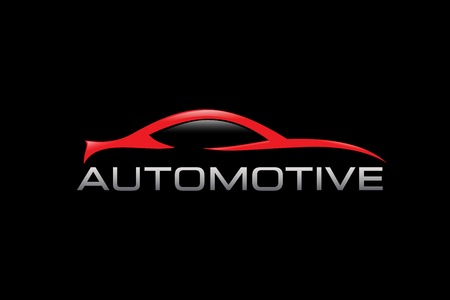 auto service: Automotive Logo Design Illustration