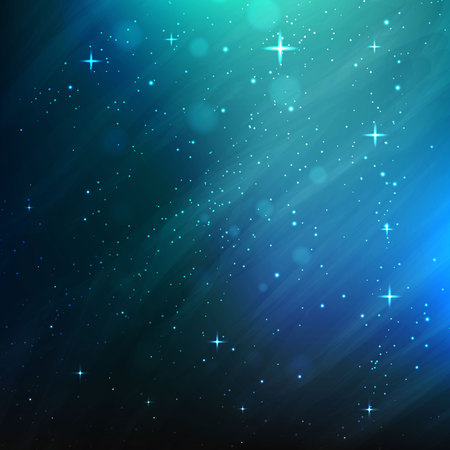 Abstract space background. vector background