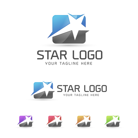 Star Logo concept 向量圖像