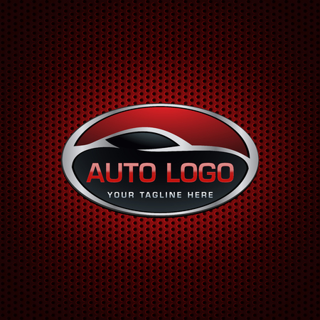 Automotive emblem Logo Illustration