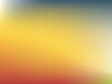 Abstract dot blur unfocused style background, dot blurred wallpaper design Ilustração