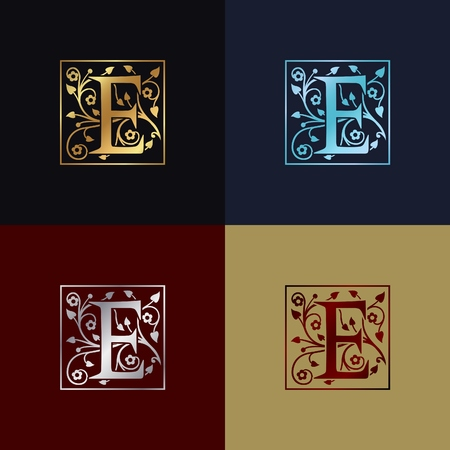 Letter nebel-04  イラスト・ベクター素材