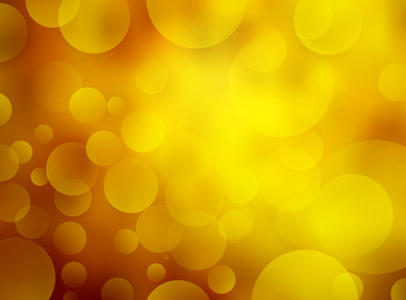 Abstract summer bokeh background. Vector illustration