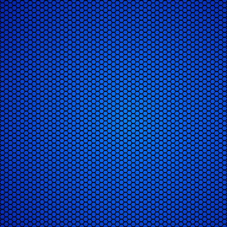 Blue carbon fiber Texture background - vector Illustration