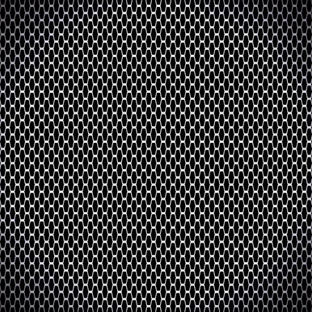 Illustrazione vettoriale di carbonio nero sfondo senza soluzione di continuità