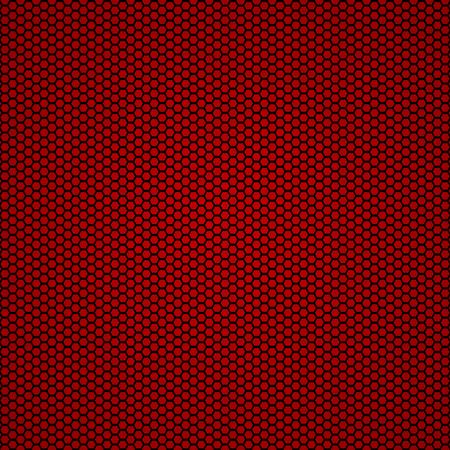 Vector illustration of red carbon fiber seamless background Çizim