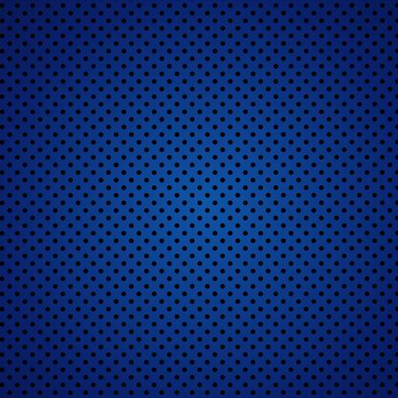 Vector illustration of blue carbon fiber seamless background Illustration