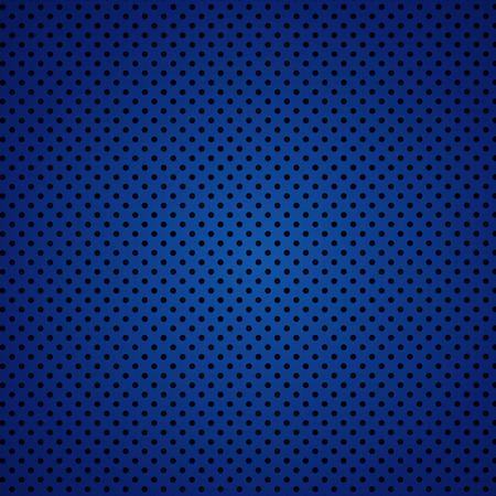 Vector illustration of blue carbon fiber seamless background Иллюстрация
