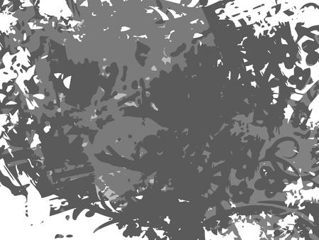 Pattern with grunge texture. Vector illustration. Иллюстрация