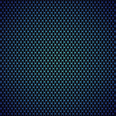 炭素繊維テクスチャ背景を青 - ベクトル イラスト