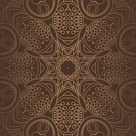 Luxury ornamental vintage Premium background . brown color