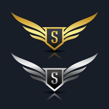 Ali Logo lettera S logo Template