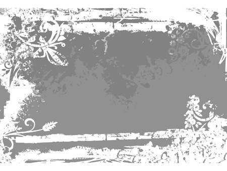 Background with grunge texture. Vector illustration. Illustration