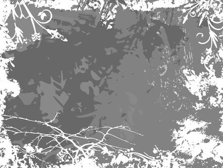 Background with grunge texture. Vector illustration. Иллюстрация