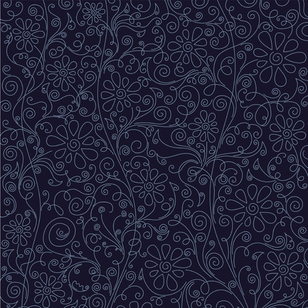 floral pattern background, vector Illustration. Çizim