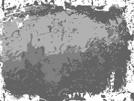 Background with grunge texture. Vector illustration. Ilustração