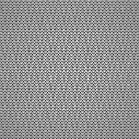 Fondo de fibra de carbono Patrones sin fisuras. Ilustración vectorial