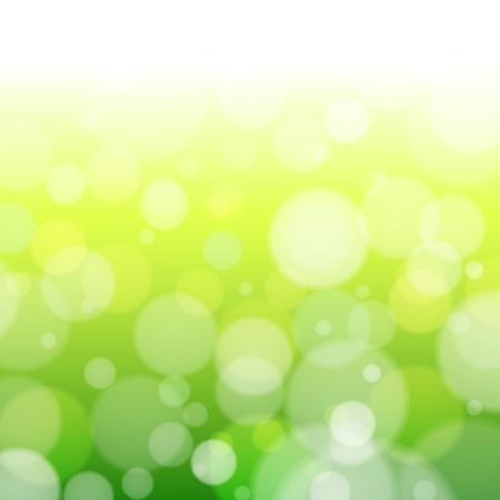 緑の春ぼかし背景ベクトル図を抽象化します。  イラスト・ベクター素材