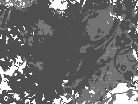 Background with grunge texture. Vector illustration. Ilustrace