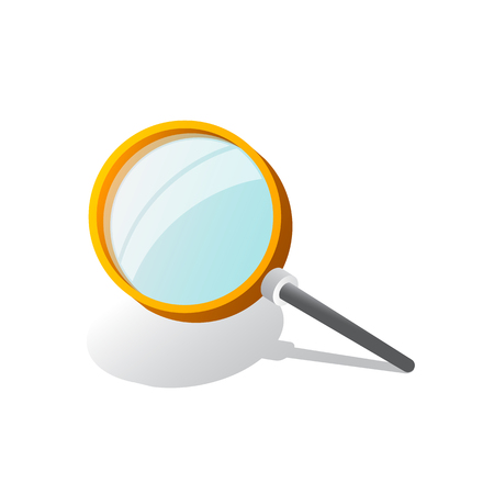 Magnifying Glass, With Gradient Mesh, Isolated on Transparent Background, With Gradient Mesh, Vector Illustration 向量圖像