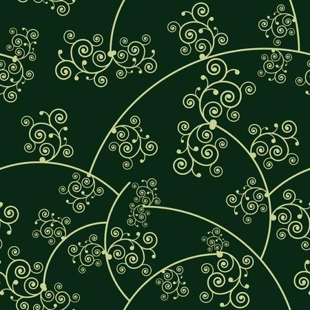 Floral pattern background, vector Illustration.