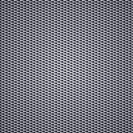 炭素繊維の背景シームレス パターン。ベクトル図  イラスト・ベクター素材