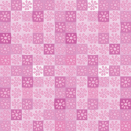Seamless purple floral floral pattern background