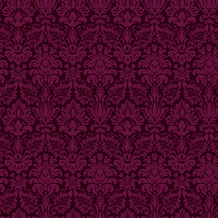 luxury ornamental background. purple Damask floral pattern. Royal wallpaper.
